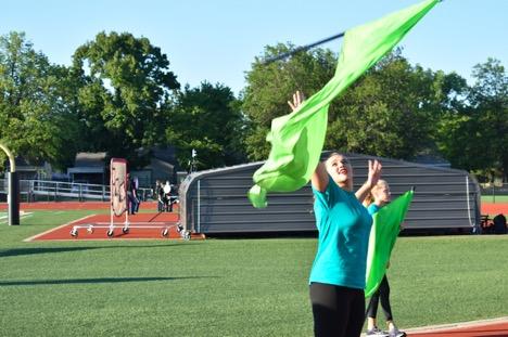 Flag Corps Practice