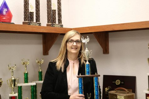 The debate team was successful in winning second place sweepstakes at their competition last week