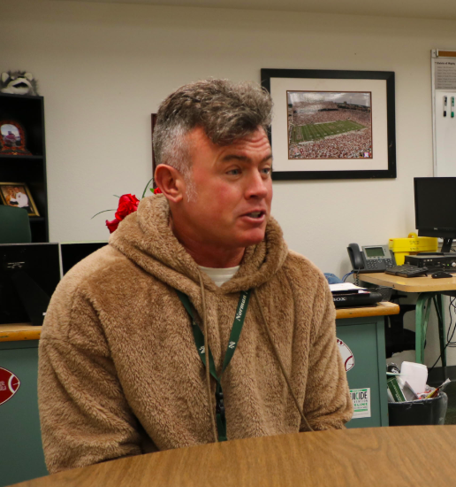 An exclusive interview with veteran teacher Mr. Weber reveals his prideful military career
