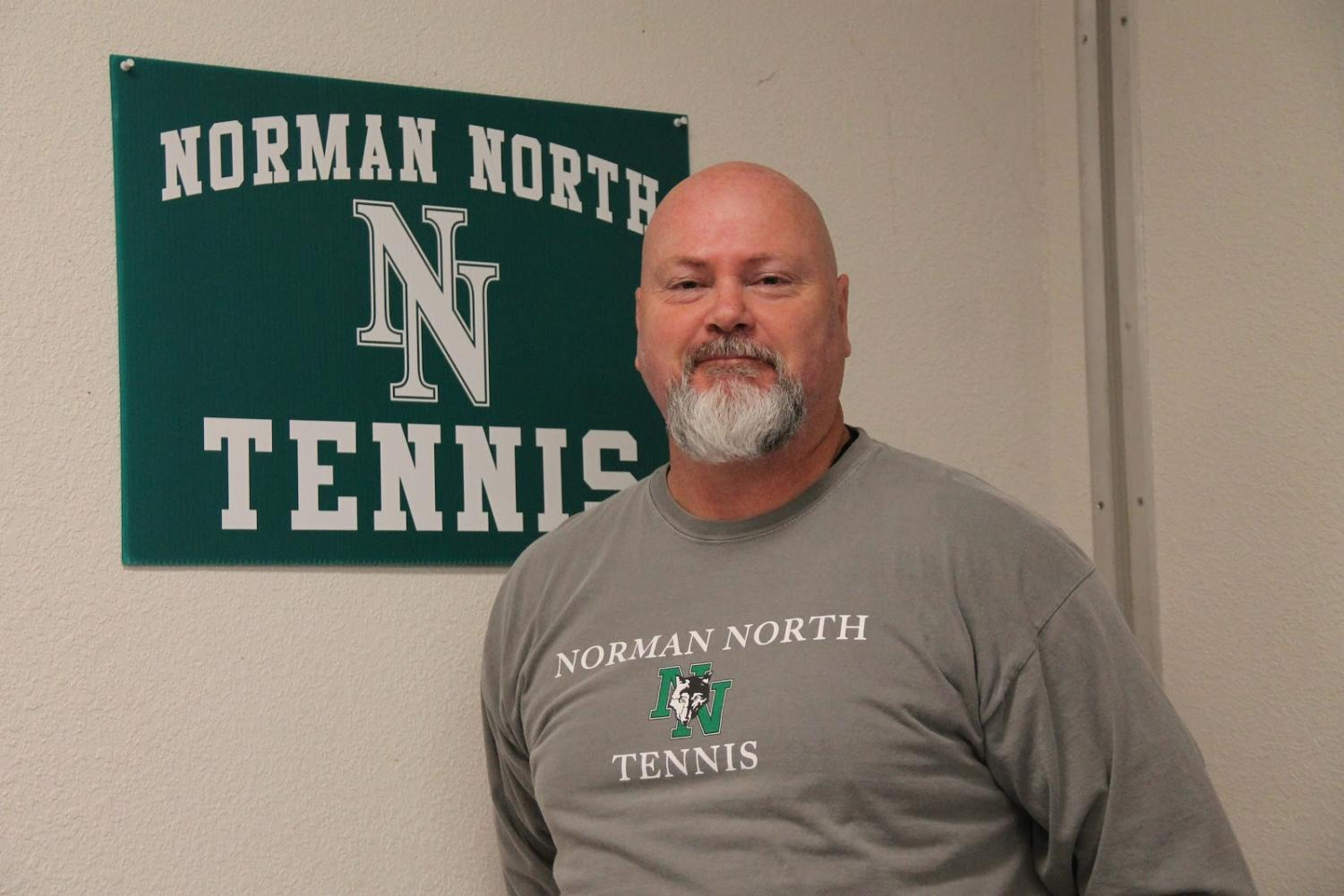 Mr. Corbett has given a lot to Norman North and has built a relationship with many students.