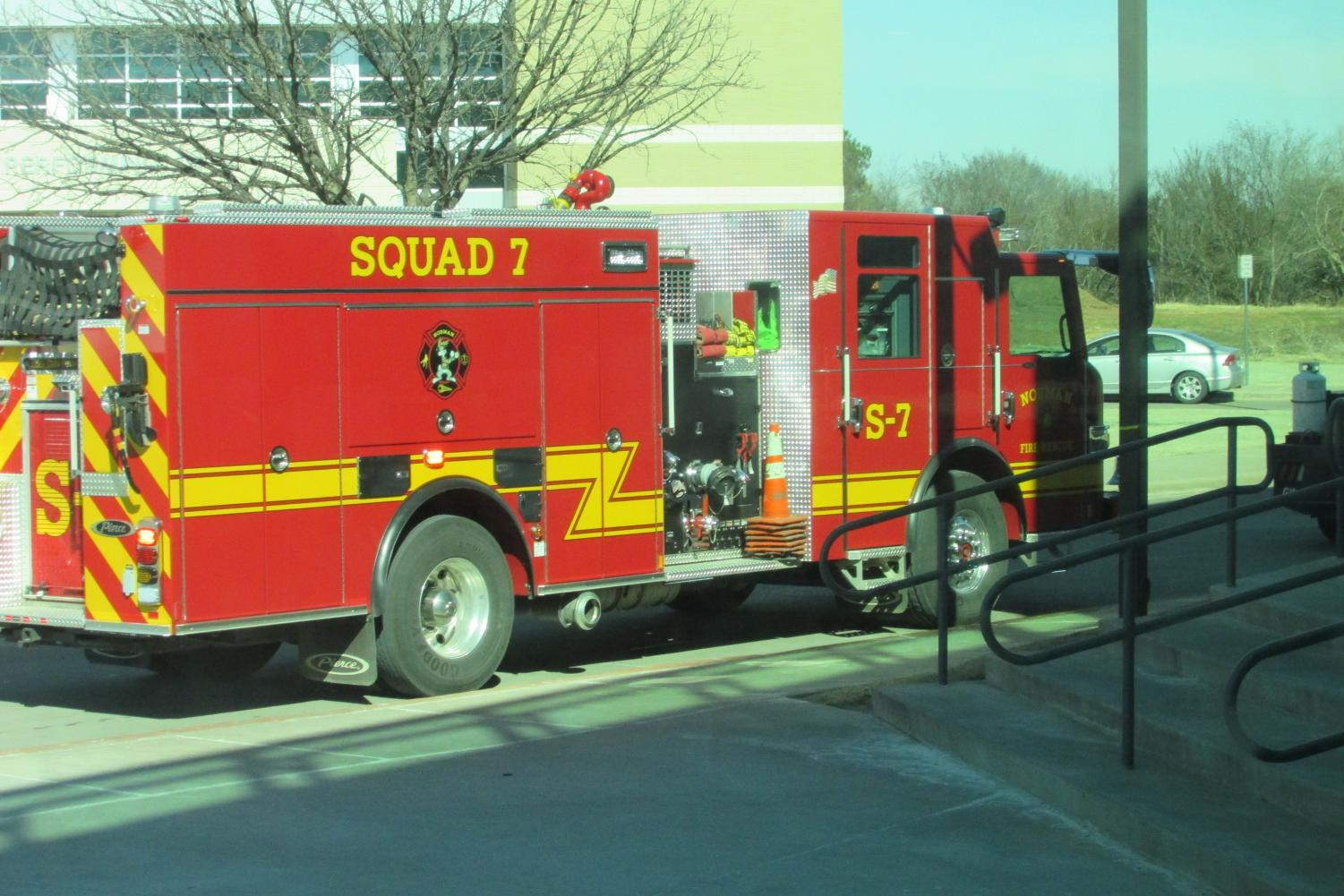The Norman Fire Department responded to the alarm Tuesday.