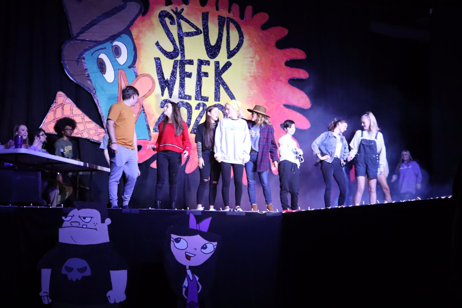 Contestants of the SPUD Fashion Show