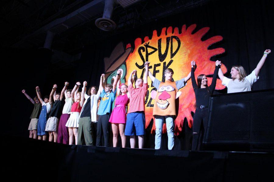 Students Performing at SPUD Week 2020.