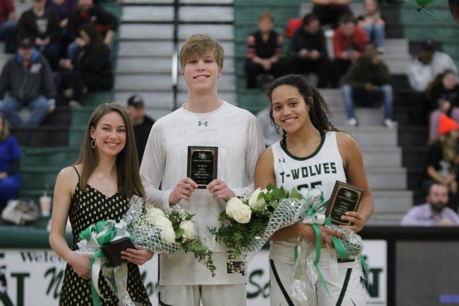 Erin Floyd, Jessika Evans, and Reid Rasnic.