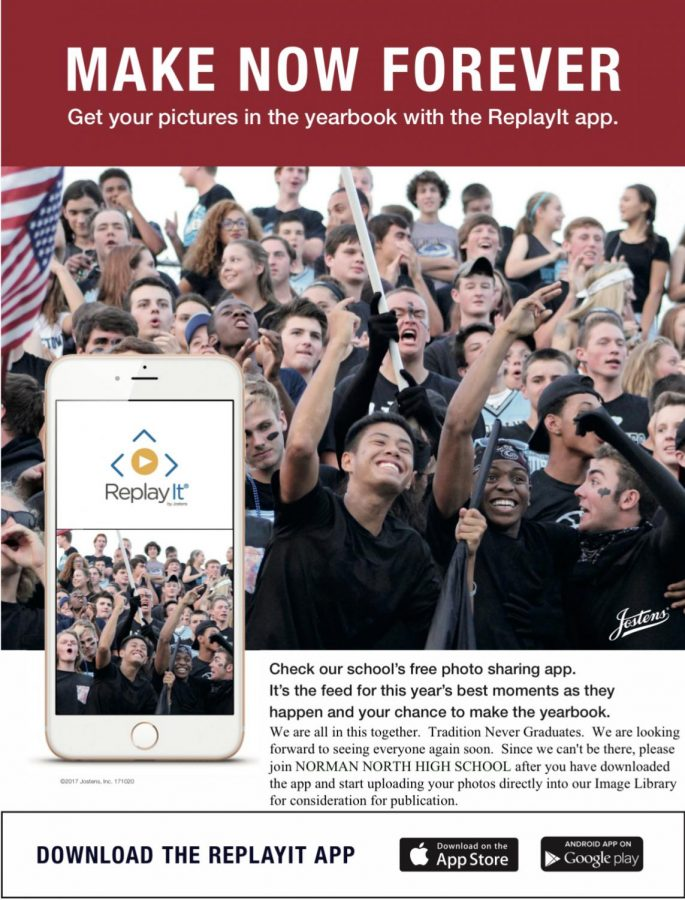 Upload you're highlights to ReplayIt with a chance to get in the yearbook.