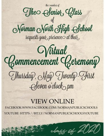Virtual Graduation Announcement