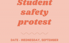 Student Safety Protest