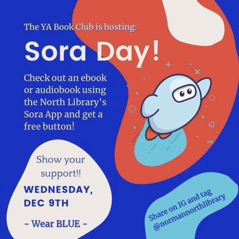 Sora Day Flyer created by sophomore Alissa Burt.
