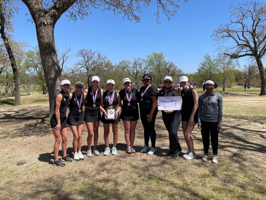 Girls JV and Varsity golf.