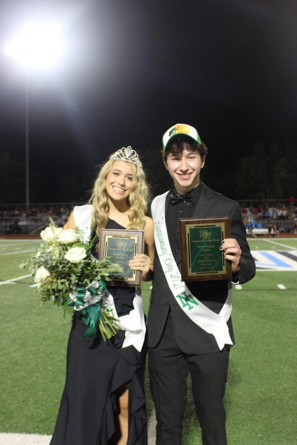 21-22 Homecoming King and Queen.