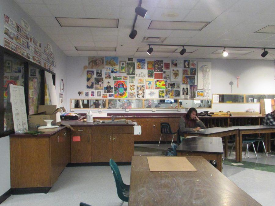 The Art Room in S206.